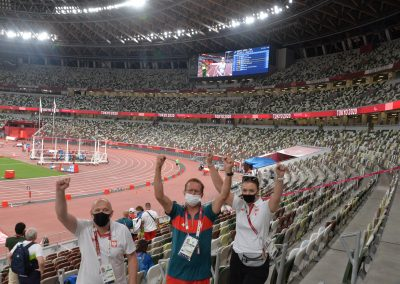 Złoto dla Polski na stadionie Olimpijskim #Tokyo2020 3 - Start Poznań