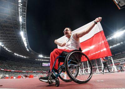 Złoto dla Polski na stadionie Olimpijskim #Tokyo2020 10 - Start Poznań