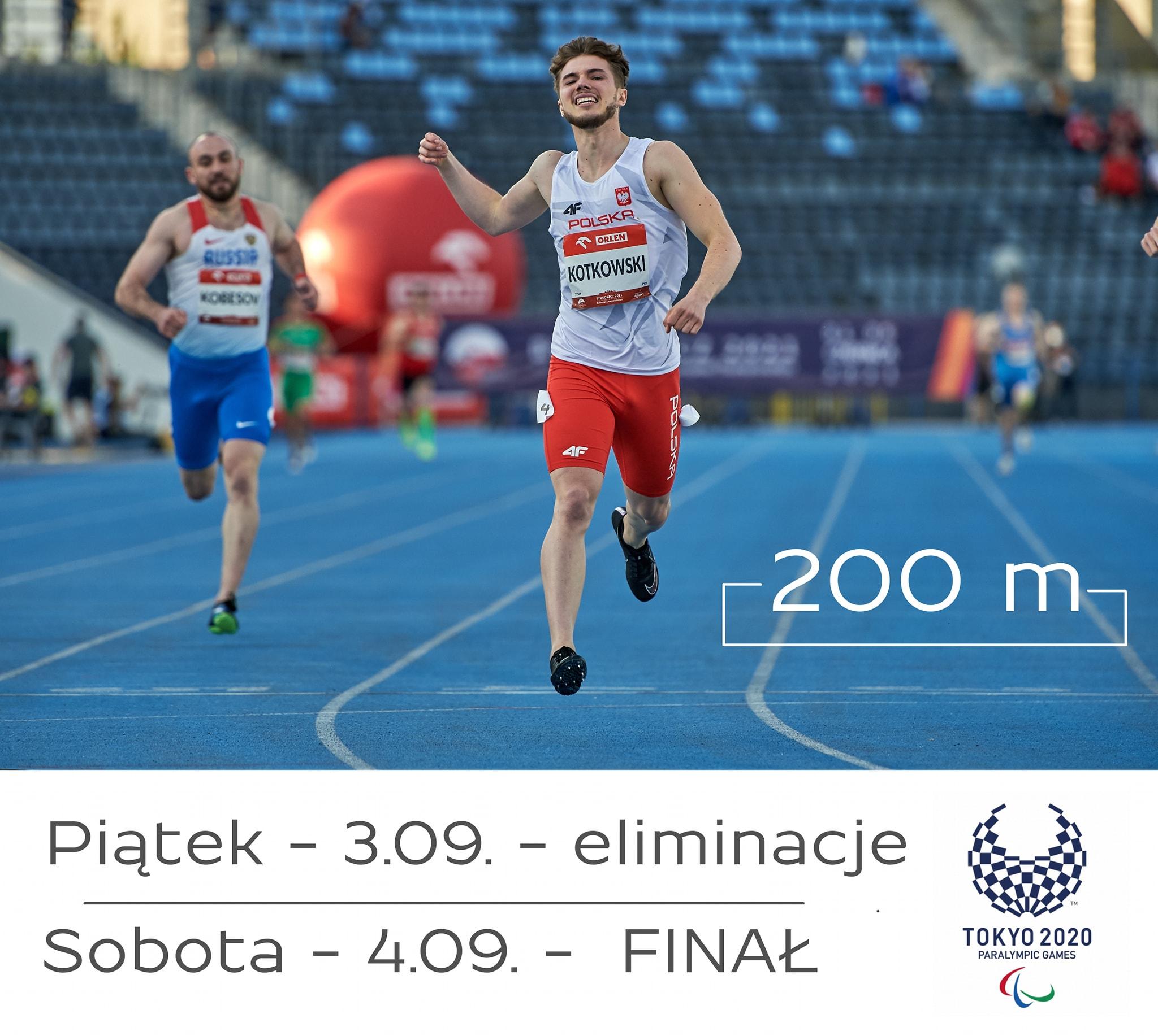 Jutro 2️⃣0️⃣0️⃣m Michała na stadionie olimpijskim 1 - Start Poznań