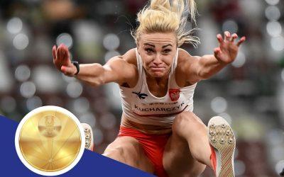 Karolina Kucharczyk ze złotym medalem w skoku w dal (T20)!