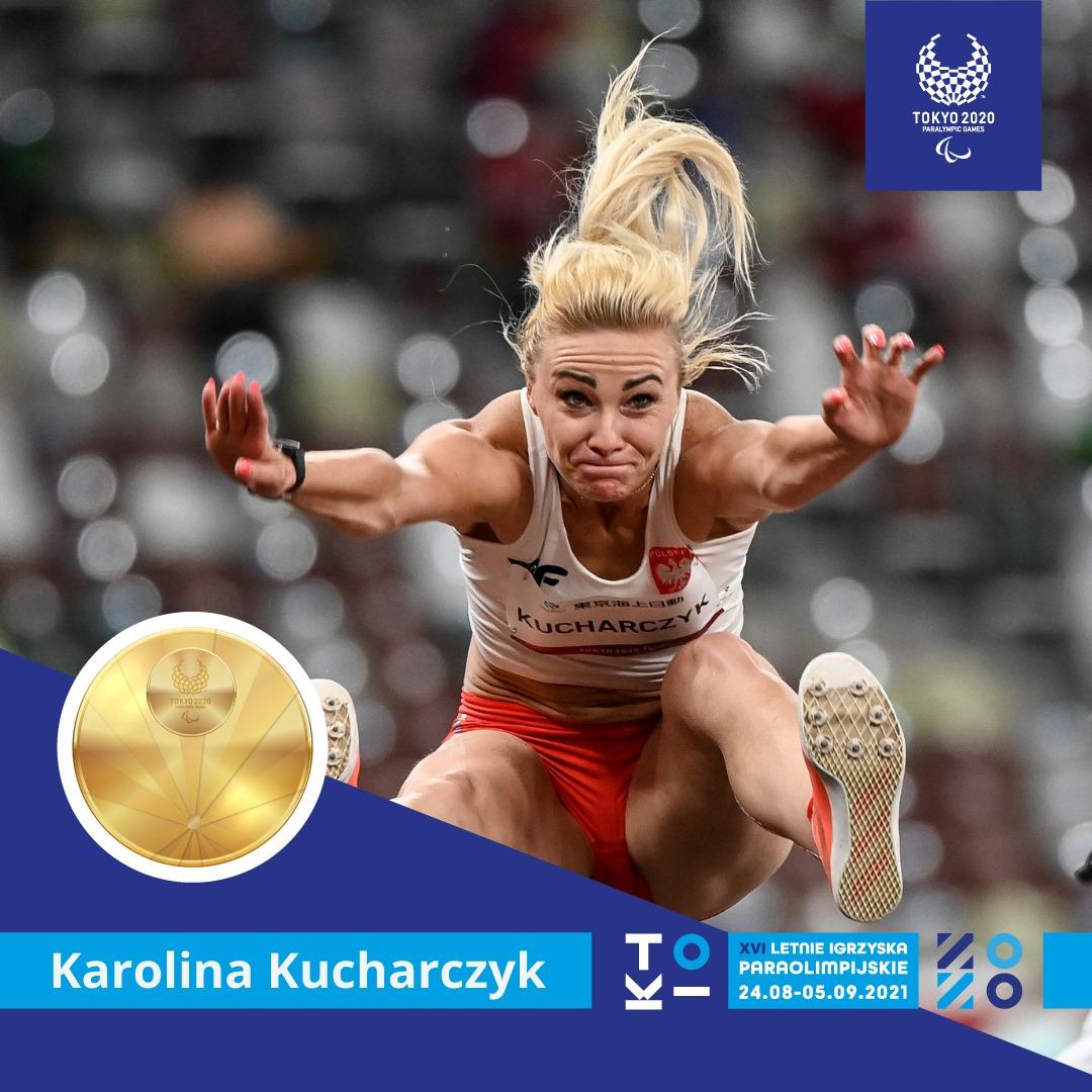 Karolina Kucharczyk ze złotym medalem w skoku w dal (T20)! 1 - Start Poznań