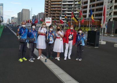 Polska Misja na Igrzyskach Paraolimpijskich #Tokyo2020 właśnie kończy swoją działalność w Japonii 15 - Start Poznań