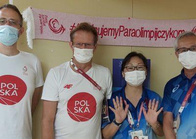 Polska Misja na Igrzyskach Paraolimpijskich #Tokyo2020 właśnie kończy swoją działalność w Japonii 13 - Start Poznań