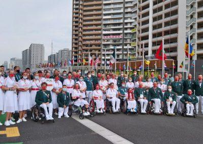 Polska Misja na Igrzyskach Paraolimpijskich #Tokyo2020 właśnie kończy swoją działalność w Japonii 27 - Start Poznań