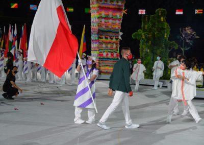 Przepiękna ceremonia zakończenia igrzysk paraolimpijskich! 25 - Start Poznań