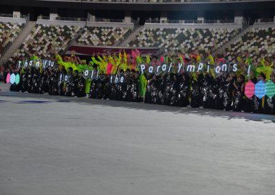 Przepiękna ceremonia zakończenia igrzysk paraolimpijskich! 26 - Start Poznań