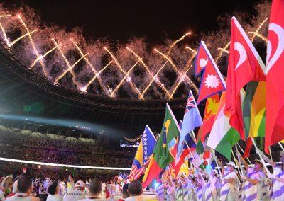 Przepiękna ceremonia zakończenia igrzysk paraolimpijskich! 6 - Start Poznań