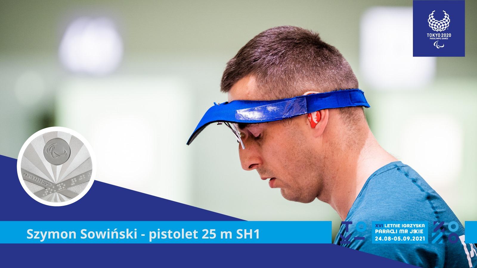 SREBRNY MEDAL W PARASTRZELECKIEJ KONKURENCJI PISTOLETU Z 25 M DLA SZYMONA SOWIŃSKIEGO! 1 - Start Poznań